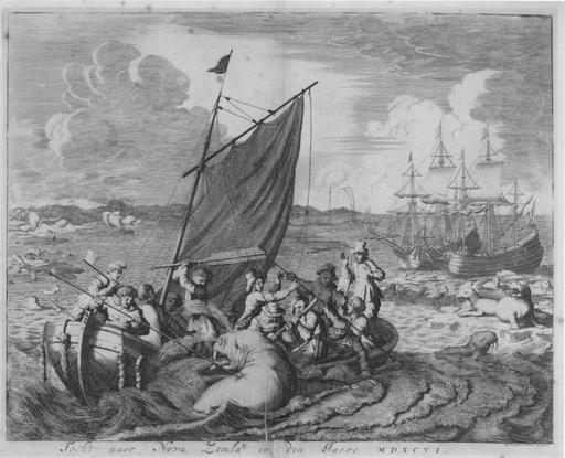 Atterrissage en Nouvelle Zemble en 1660