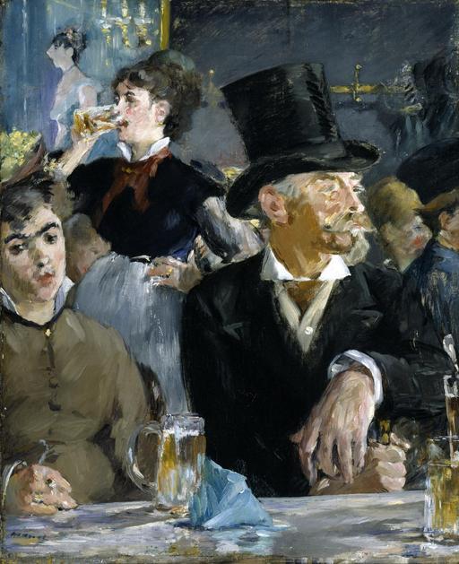 Au café, de Manet