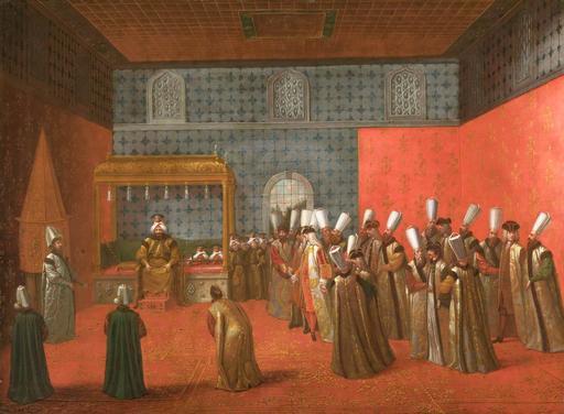 Audience au Palais de Topkapi