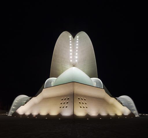 Auditorium de Ténérife de nuit