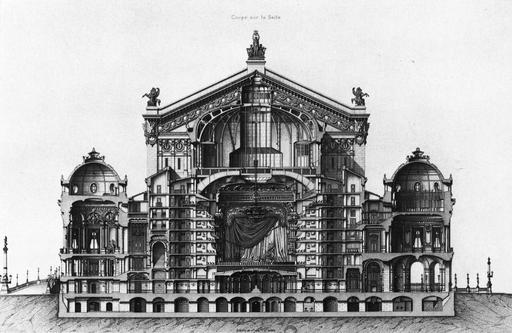 Auditorium et pavillons du Palais Garnier