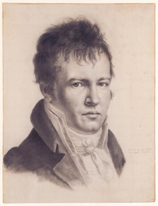 Auto-portrait d'Alexandre von Humboldt