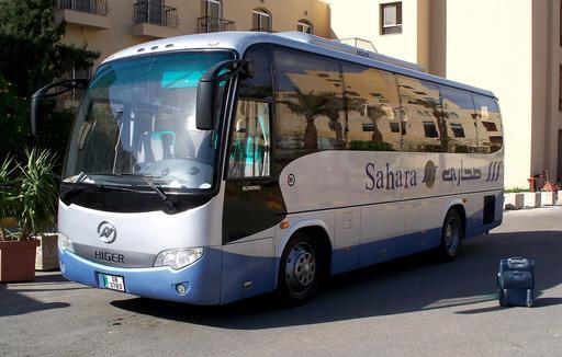 Autobus de tourisme en Jordanie