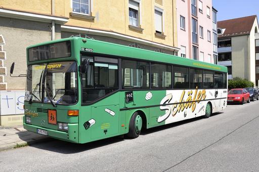 Autobus scolaire à Munich