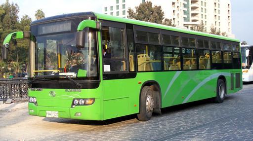 Autobus syrien à Damas
