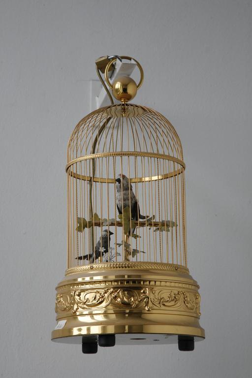 Automate des oiseaux en cage