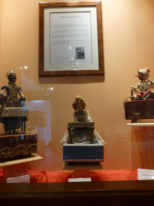 Automates Farkas au musée des automates