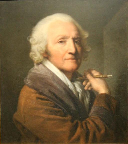 Autoportrait de Greuze en 1777