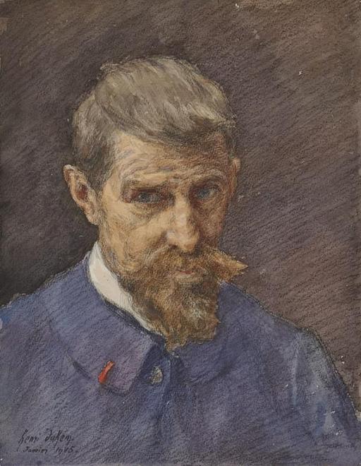 Autoportrait de Henri Duhem