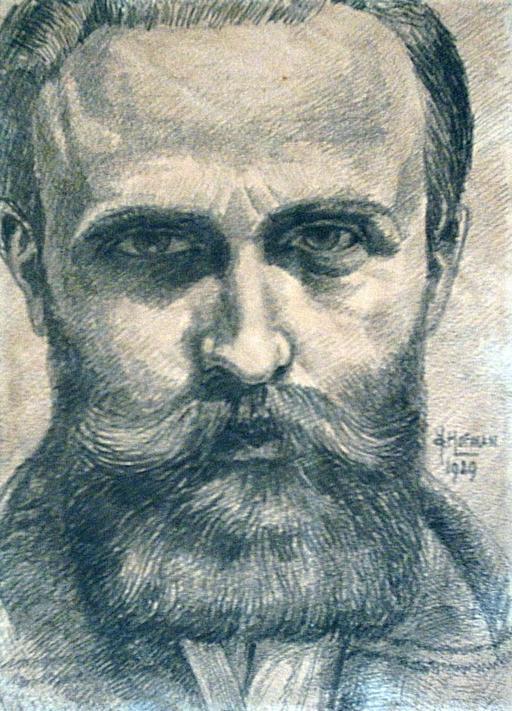 Autoportrait de Hofman