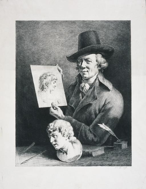 Autoportrait de Jean-Jacques de Boissieu en 1796