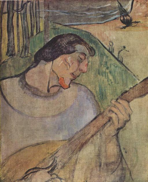 Autoportrait de Paul Gauguin