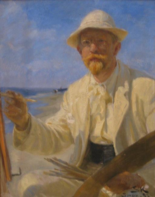 Autoportrait de Peder Severin Krøyer