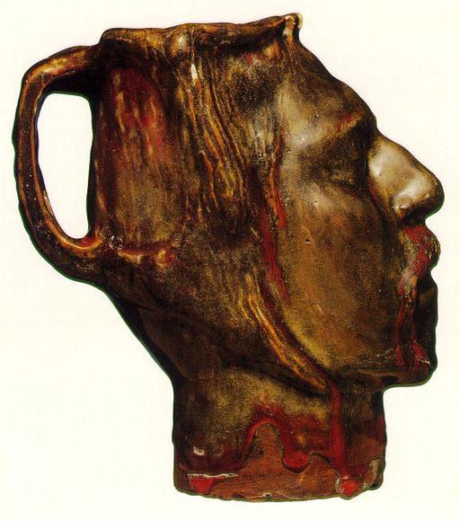 Autoportrait sculpté de Gauguin