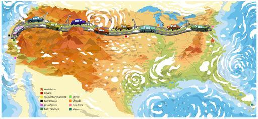 Autoroute inter-États aux États-Unis