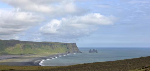 Baie de Reynisfjara en Islande