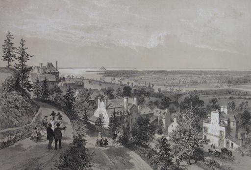 Baie et Mont-Saint-Michel en 1923