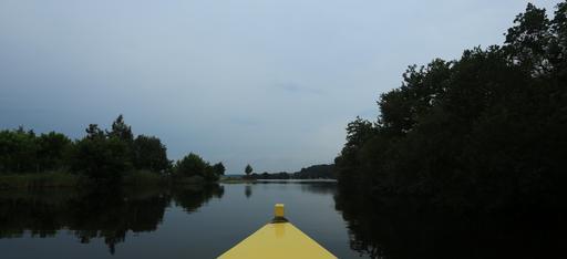 Balade en barque à Biscarrosse