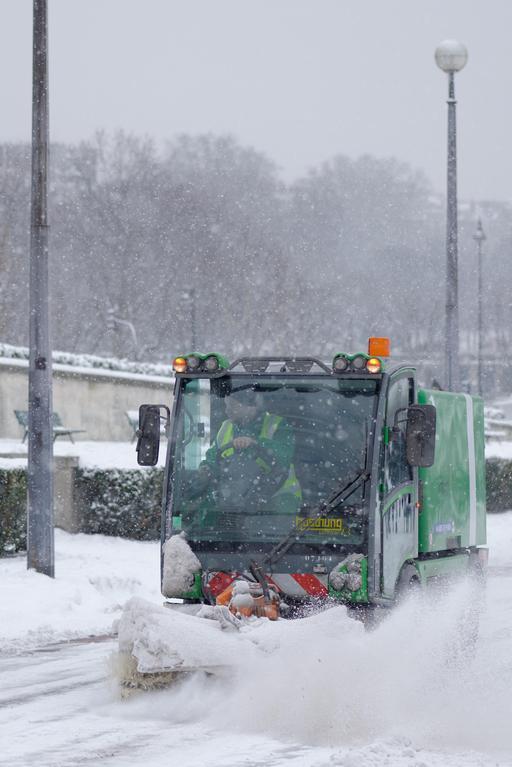 Balayage de neige
