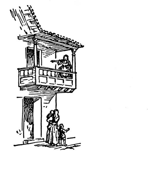 Balcon médiéval