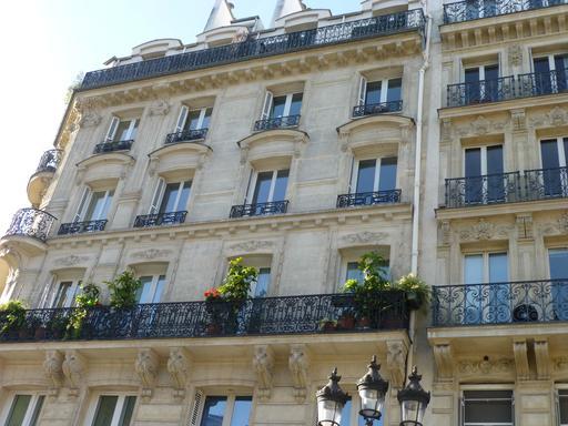 Balcons fleuris à Paris