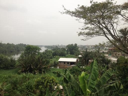 Banlieue de Douala au Cameroun