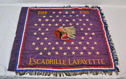 Bannière de l'escadrille Lafayette