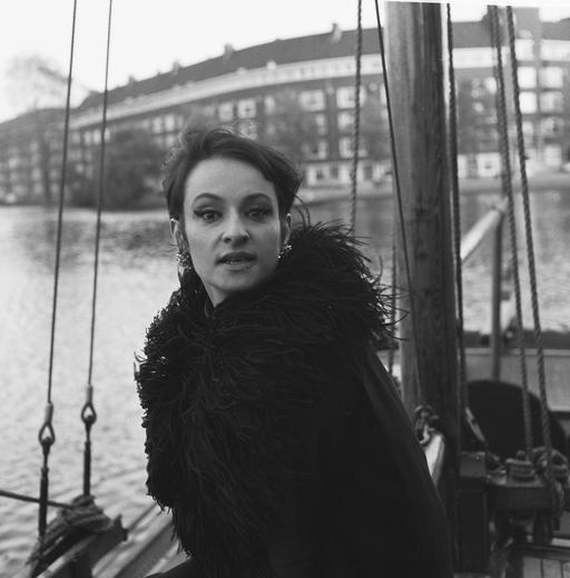 Barbara à Amsterdam en 1965