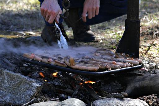 Barbecue de saucisses en Australie