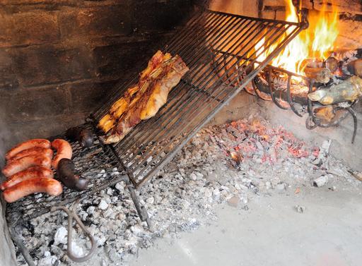 Barbecue familial en Uruguay