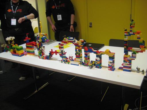 Barcamp en Lego à Londres