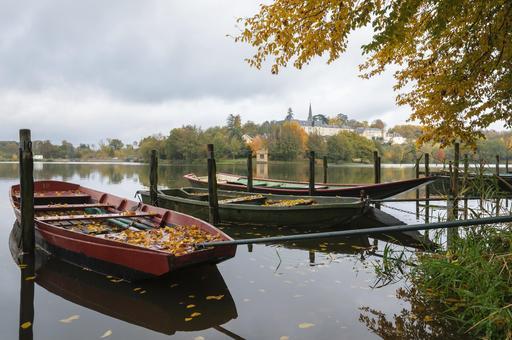Barques à fond plat
