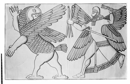 Bas-relief assyrien