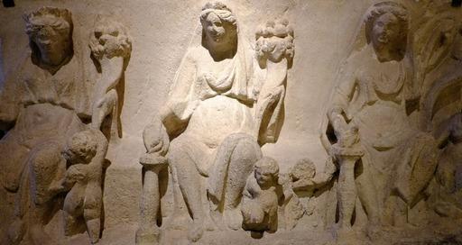 Bas-reliefs antiques au musée de Dijon