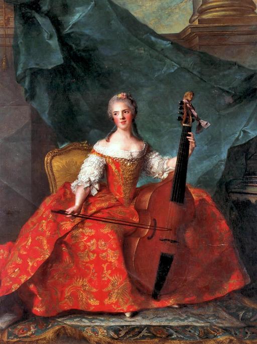 Basse de viole en 1759