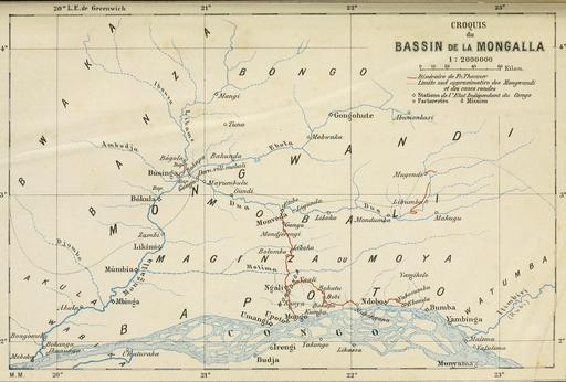 Bassin de la Mongola au Congo en 1896