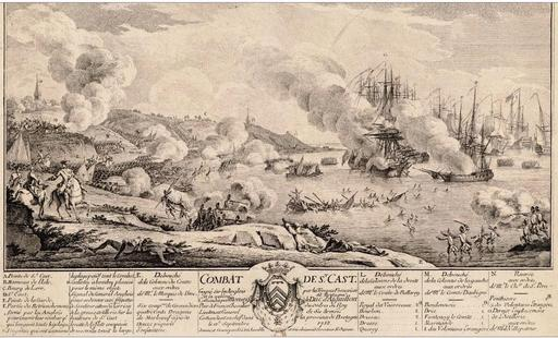 Bataille de Saint Cast en 1758