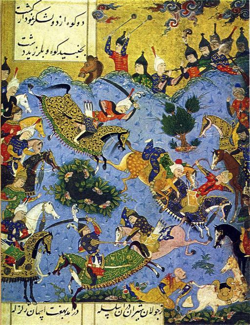 Bataille en Iran en 1500