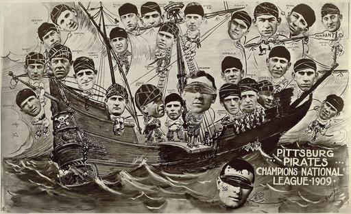 Bateau des Pirates de la Ligue de baseball de 1909