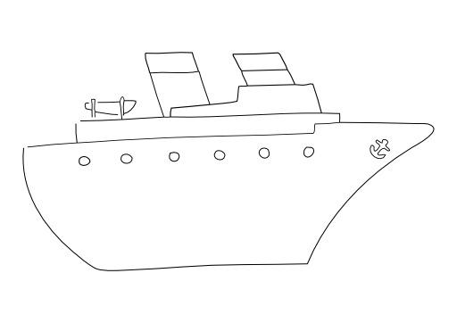 Bateau - navire - paquebot