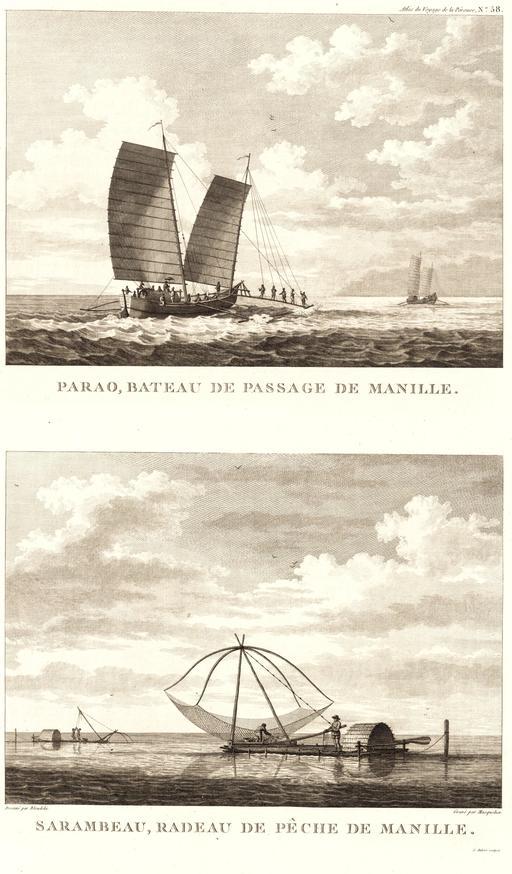 Bateaux de Manille en 1797