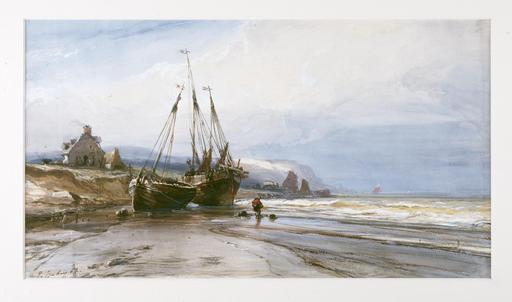 Bateaux de pêche en Normandie