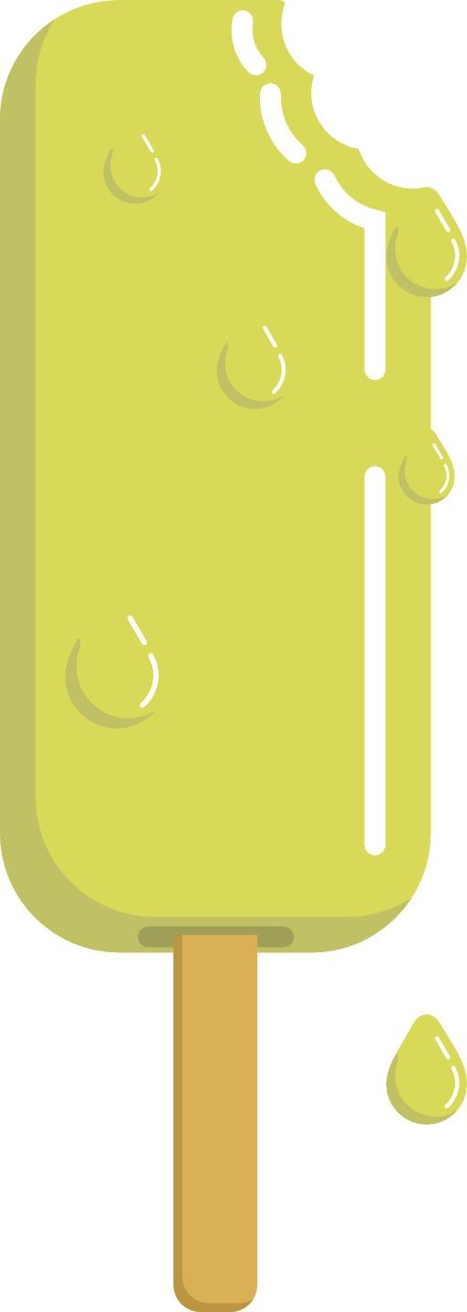 Bâtonnet de glace au citron