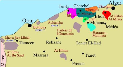Berbères en Algérie occidentale