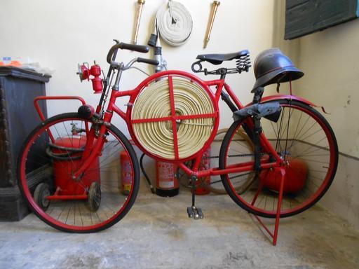 Bicyclette de pompier