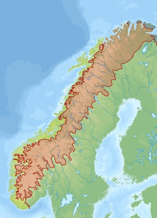 Biogéographie des alpes scandinaves