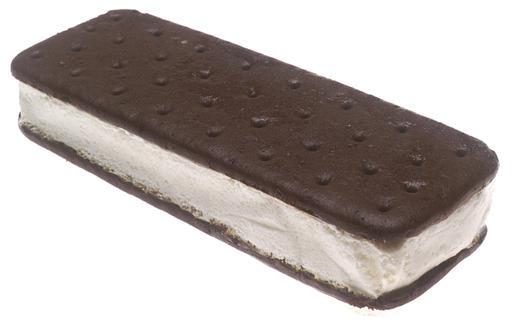 Biscuit au chocolat à la crème glacée