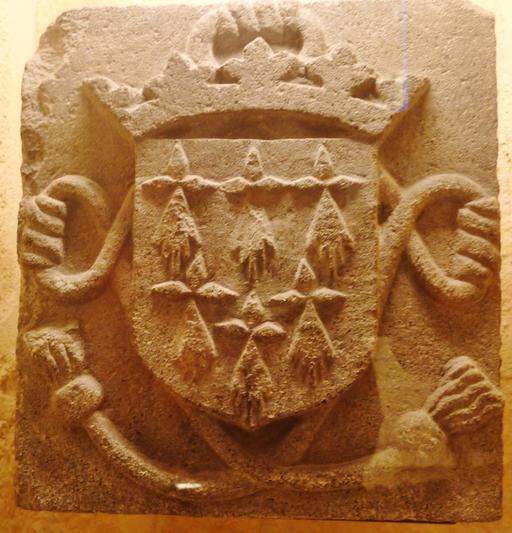 Blason breton en pierre