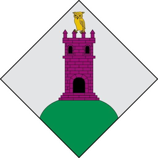 Blason du hibou sur la tour