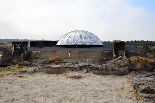 Blockhaus du mur de l'Atlantique au Danemark